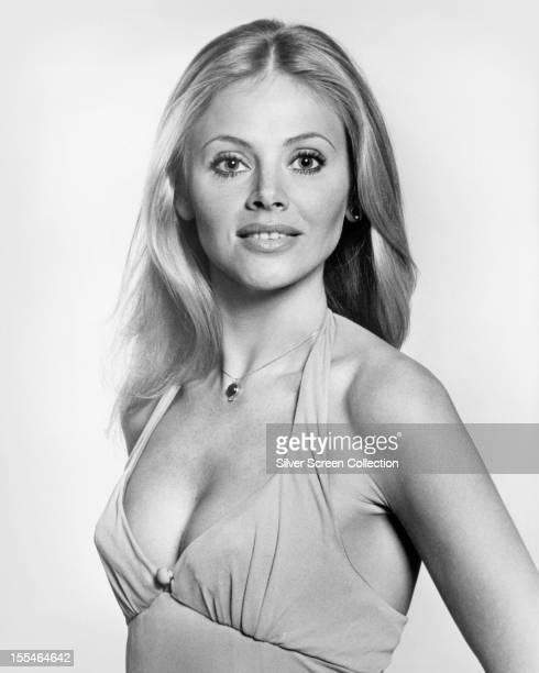 Swedish actress Britt Ekland in a promotional portrait for 'The Man With The Golden Gun', directed by Guy Hamilton, 1974. Ekland plays Mary Goodnight...