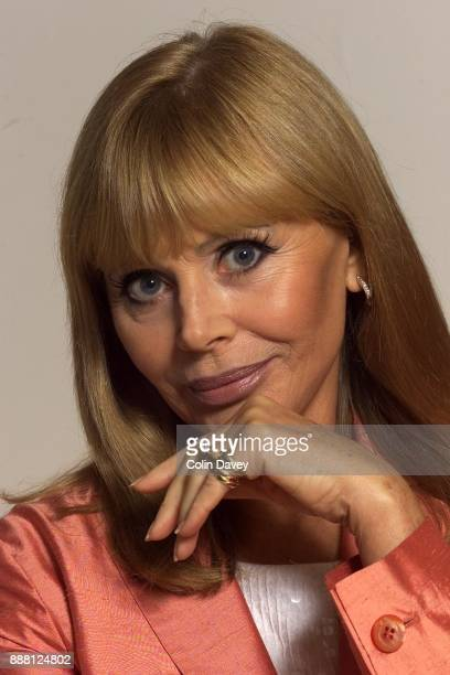 Swedish actress Britt Ekland photographed in London UK 10th July 2000