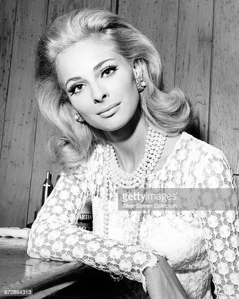 Swedish actress Camilla Sparv circa 1968