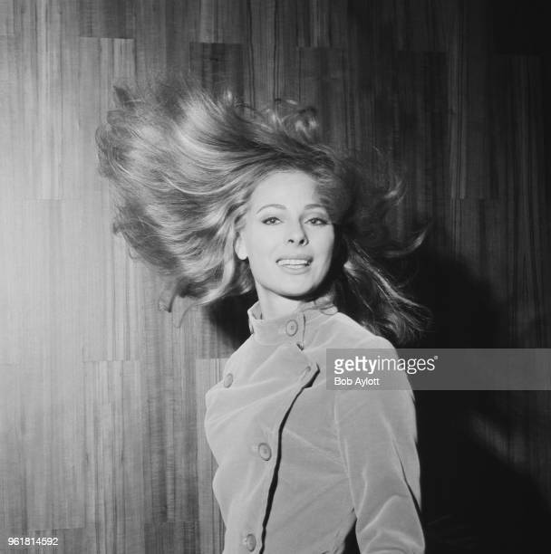 Swedish actress Camilla Sparv in London to star in the film 'The High Commissioner' or 'Nobody Runs Forever' 24th October 1967