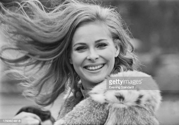 Swedish actress Camilla Sparv, UK, 24th October 1967.