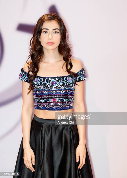 Swedish actress Dilan Gwyn attends the Leo Awards 2017 at Hyatt Regency Vancouver on June 4 2017 in Vancouver Canada