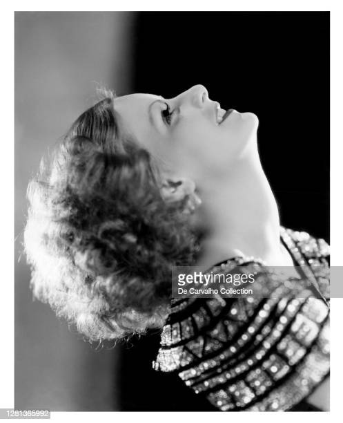 Swedish Actress Greta Garbo as 'Yvonne Valbret' in a publicity shot from the movie 'Inspiration' United States.