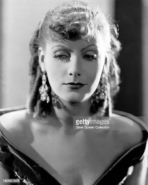 Swedish actress Greta Garbo in a promotional portrait for 'Romance' directed by Clarence Brown 1930