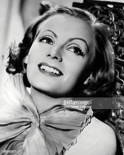 Swedish actress Greta Garbo in a promotional portrait for 'The Painted Veil' directed by Ryszard Boleslawski 1934