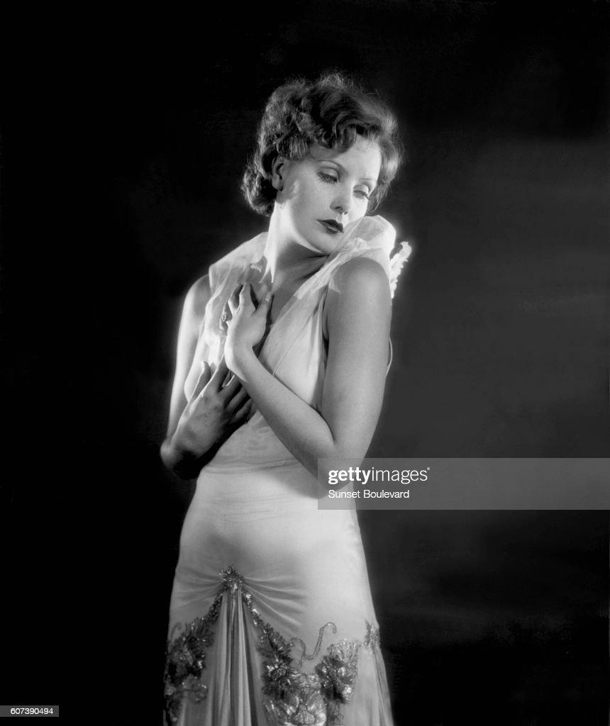 Swedish actress Greta Garbo : News Photo
