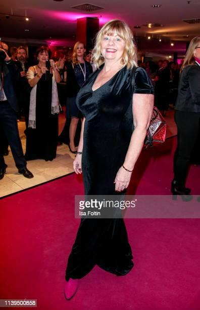 Swedish actress Inger Nillson attends the Gloria Deutscher Kosmetikpreis at Hilton Hotel on March 30 2019 in Duesseldorf Germany