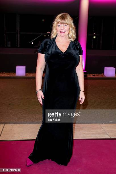 Swedish actress Inger Nillson attends the Gloria Deutscher Kosmetikpreis at Hilton Hotel on March 30 2019 in Duesseldorf Germany