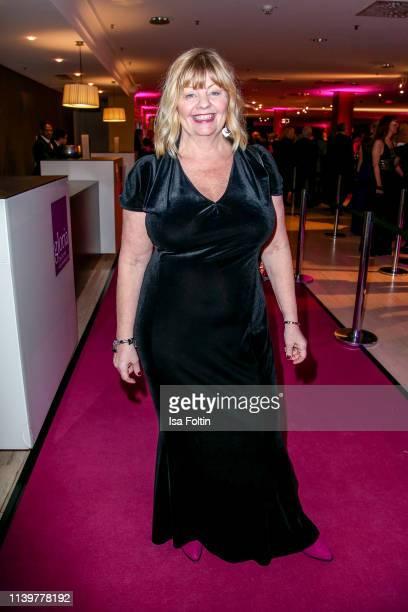 Swedish actress Inger Nilsson attends the Gloria Deutscher Kosmetikpreis at Hilton Hotel on March 30 2019 in Duesseldorf Germany