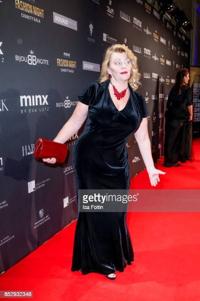Swedish actress Inger Nilsson during the Minx Fashion Night in favour of 'Sauti Kuu' of Auma Obama at Wuerzburger Residenz on September 23 2017 in...