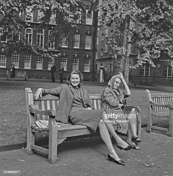 Swedish actress Ingrid Bergman in London, UK, 24th September 1965.