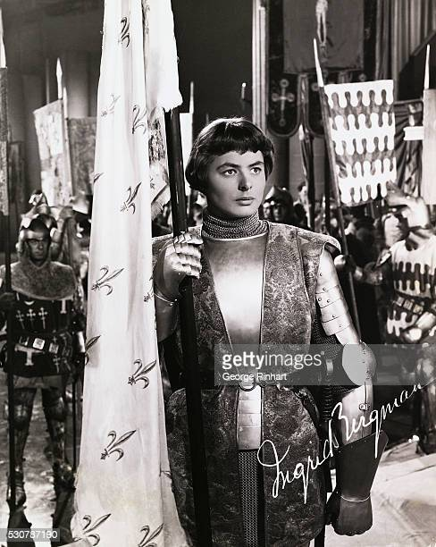 Swedish actress Ingrid Bergman in the 1948 film Joan of Arc directed by Victor Fleming