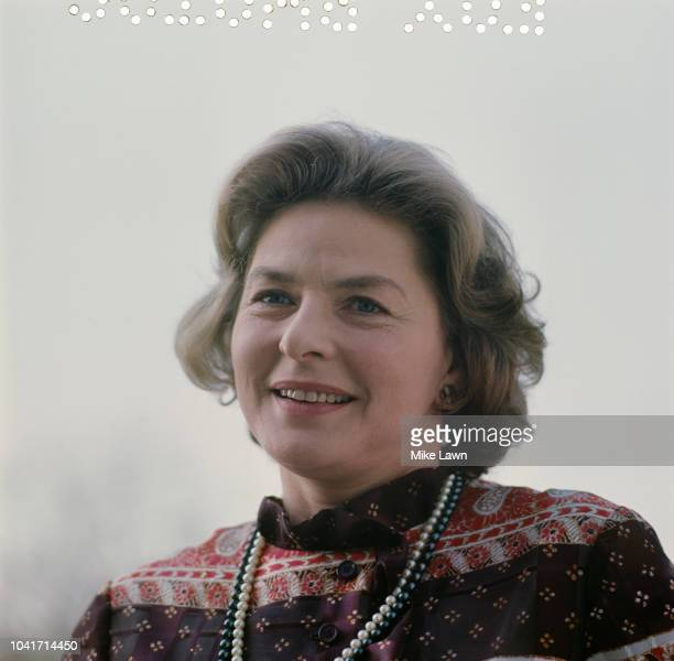 Swedish actress Ingrid Bergman , May 1971.