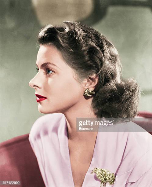 Swedish actress Ingrid Bergman