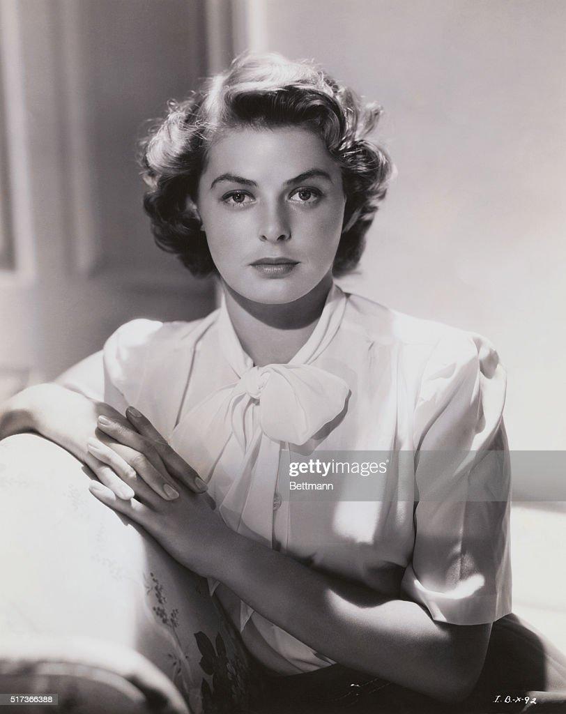 Portrait of Ingrid Bergman : ニュース写真