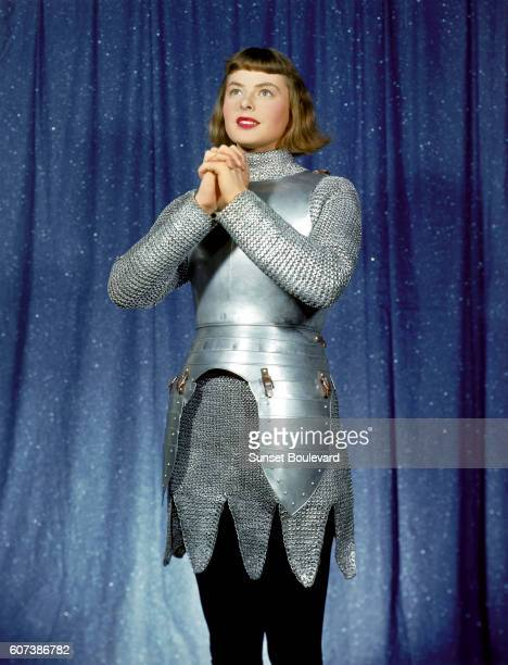Swedish actress Ingrid Bergman stars in Joan of Arc directed by Victor Fleming