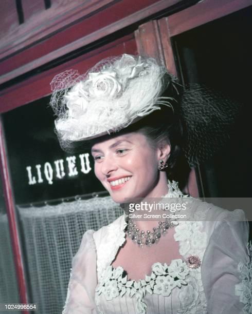 Swedish actress Ingrid Bergman stars in the film 'Élèna et les Hommes' 1956
