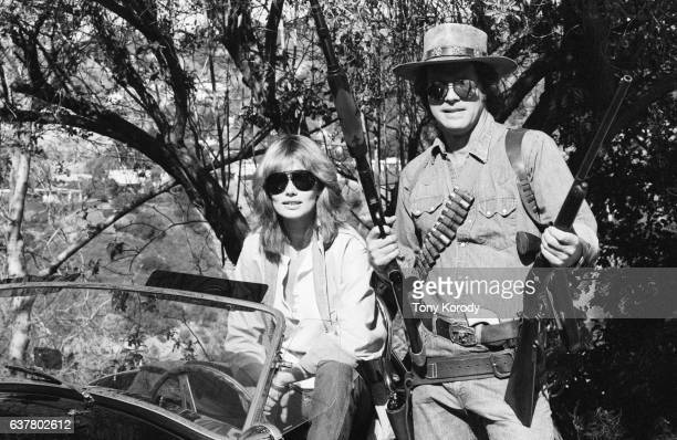 Swedish Actress Maud Adams and American Actor Reid Smith
