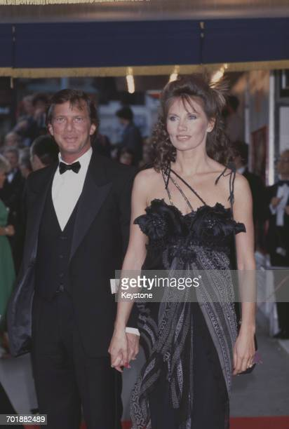 Swedish actress Maud Adams arrives at the London premiere of the James Bond film 'Octopussy' in which she plays the title role Odeon Leicester Square...