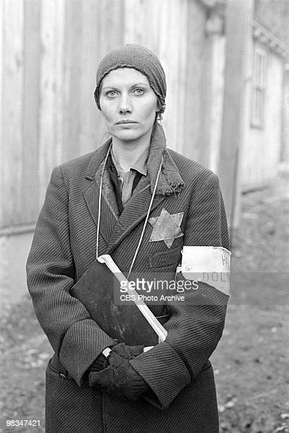 Swedish actress Maud Adams in a scene from the madefortelevsion film 'Playing for Time' Annville Pennsylvania 1980 It was originally broadcast on...