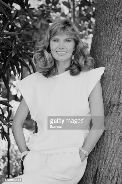 Swedish actress Maud Adams UK 19th October 1983