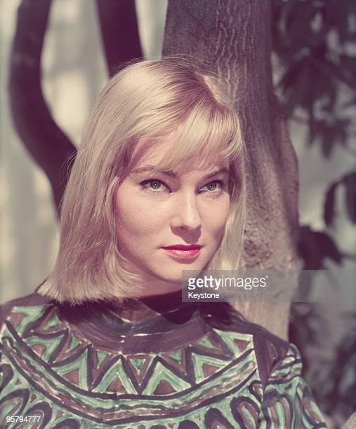 Swedish actress May Britt circa 1960 She married entertainer Sammy Davis Jr in 1959