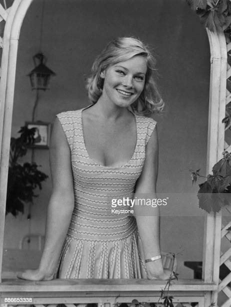 Swedish actress May Britt in Rome Italy to to star in the film 'War and Peace' May 1956