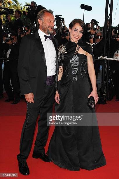 Swedish actress Noomi Rapace and actor Michael Nyqvist attends the A Prophet Premiere held at the Palais Des Festivals during the 62nd International...