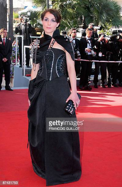 Swedish actress Noomi Rapace arrives for the screening of the movie Le Prophete in competition at the 62nd Cannes Film Festival on May 16 2009 AFP...