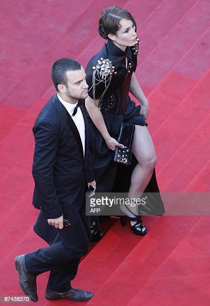 Swedish actress Noomi Rapace arrives for the screening of the movie Un Prophete in competition at the 62nd Cannes Film Festival on May 16 2009 AFP...