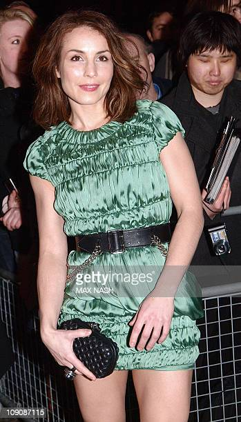 Swedish actress Noomi Rapace poses as she arrives for the Elle Style Awards 2011 in central London on February 14 2011 AFP PHOTO / MAX NASH