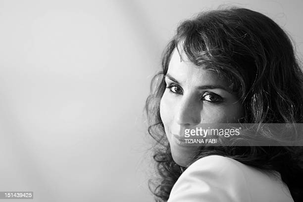 Swedish actress Noomi Rapace poses during the photocall of Passion during the 69th Venice Film Festival on August 2012 at Venice Lido Passion is...
