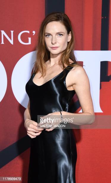 Swedish actress Rebecca Ferguson attends the US premiere of Warner Bros Pictures' Doctor Sleep in Los Angeles on October 29 2019