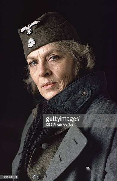 Swedish actress Viveca Lindfors in a scene from the madefortelevsion film 'Playing for Time' Annville Pennsylvania 1980 It was originally broadcast...