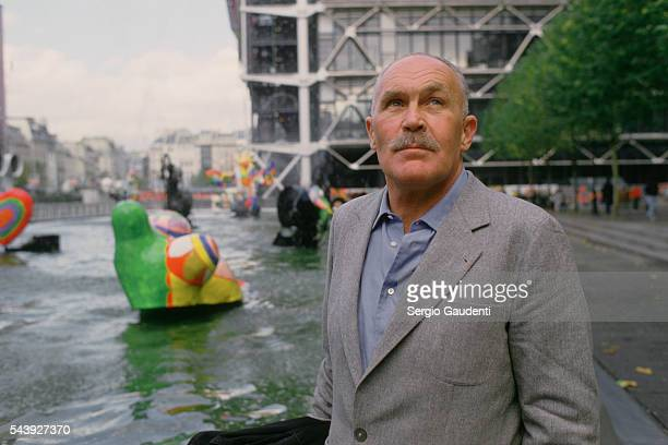 Swedish artist Pontus Hulten director of the Pompidou Center in Paris from 1973 to 1981
