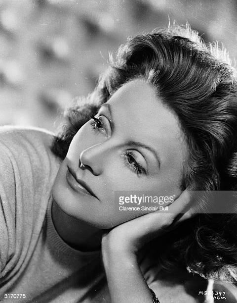 Swedish born actress Greta Garbo .