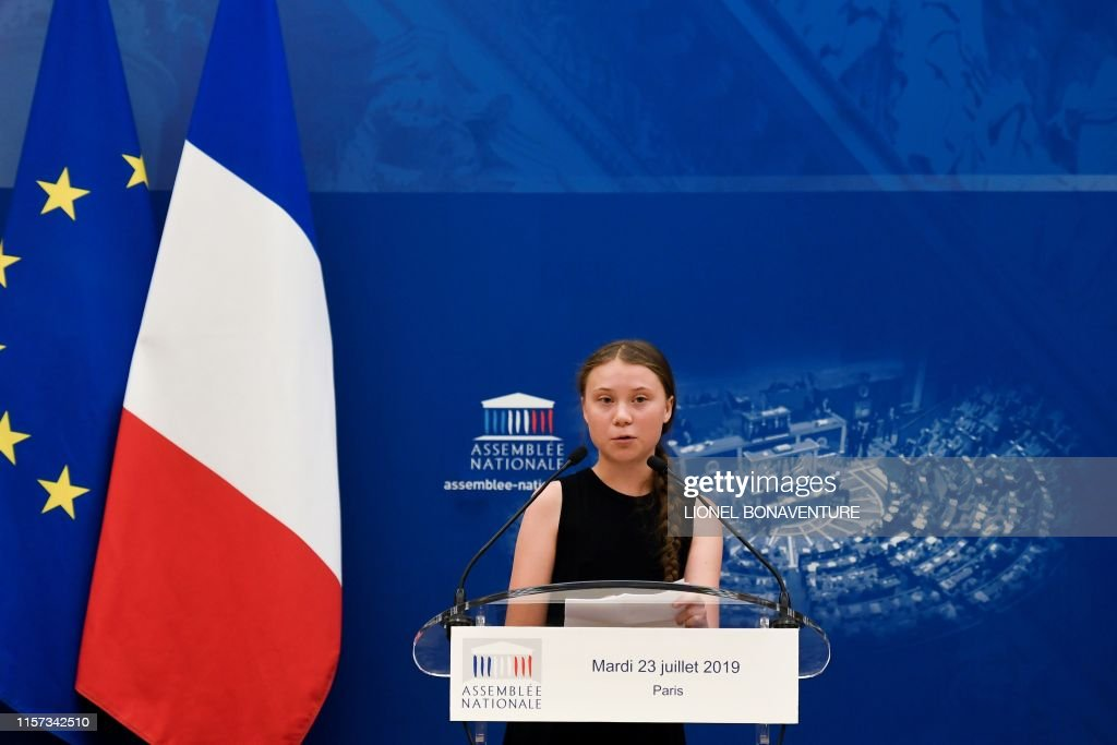 FRANCE-CLIMATE-POLITICS-ENVIRONMENT-NGO-PARLIAMENT : News Photo