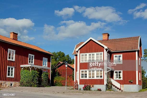 スウェーデン式のカントリー村
