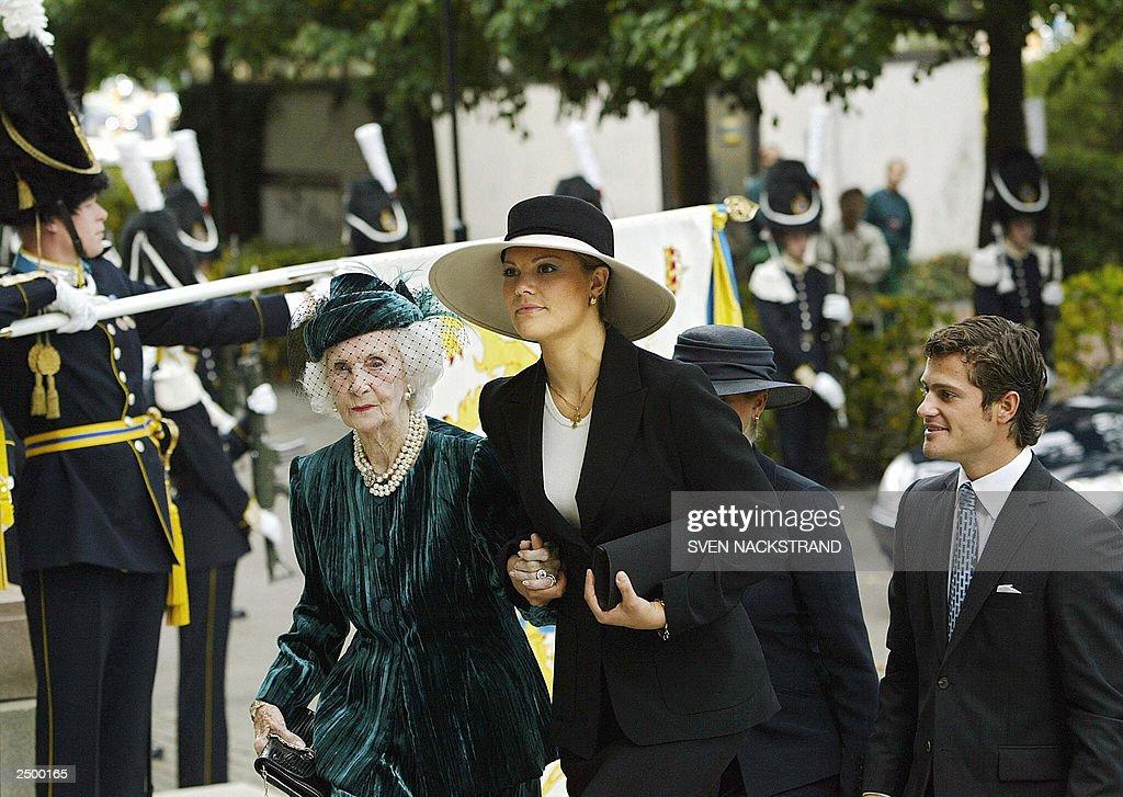 Swedish Crown Princess Victoria arrives  : News Photo