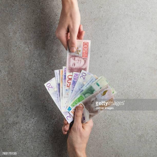 swedish currency - スウェーデン通貨 ストックフォトと画像