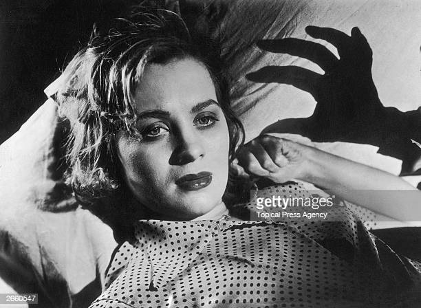 Swedish director screenwriter and actress Mai Zetterling plays romantic lead Bertha in the film 'Hets' written by Ingmar Bergman The film was...