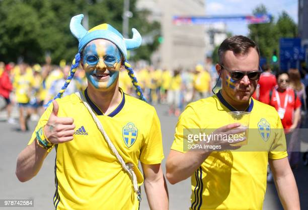 Swedish fans watching the Sweden vs South Korea game in the fan zone The FIFA World Cup 2018 is the 21st FIFA World Cup which starts on 14 June and...