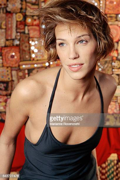 Swedish fashion model and actress Emma Sjoberg