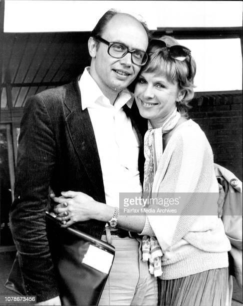 Swedish film actress Min Bibi Andersson who flew into Sydney today with her husband of one month Mr Per Ahlmark Chairman of the Board of the Swedish...