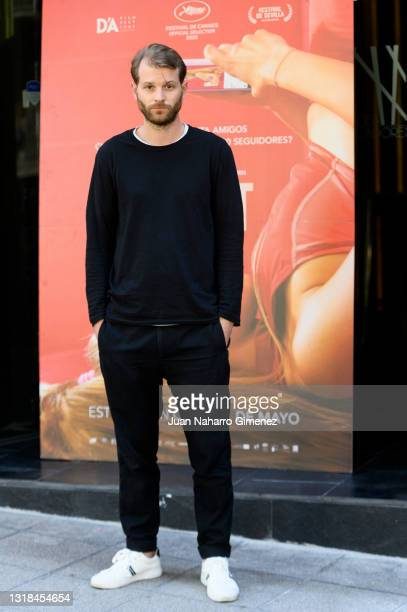 Swedish film director Magnus Von Horn attends 'Sweat' photocall at Cine Embajadores on May 17, 2021 in Madrid, Spain.