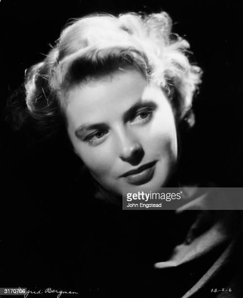 Swedish film star Ingrid Bergman .