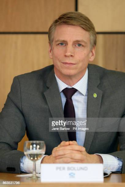 Swedish Financial Markets Minister Per Bolund during Scotland's Inclusive Growth Conference in Glasgow as she outlines how reducing inequality and...