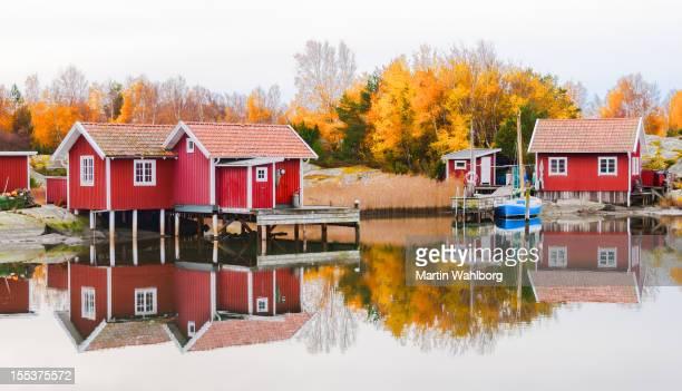 Swedish Fishing Huts