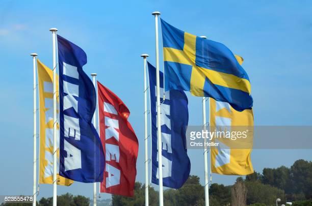 IKEA & Swedish Flag