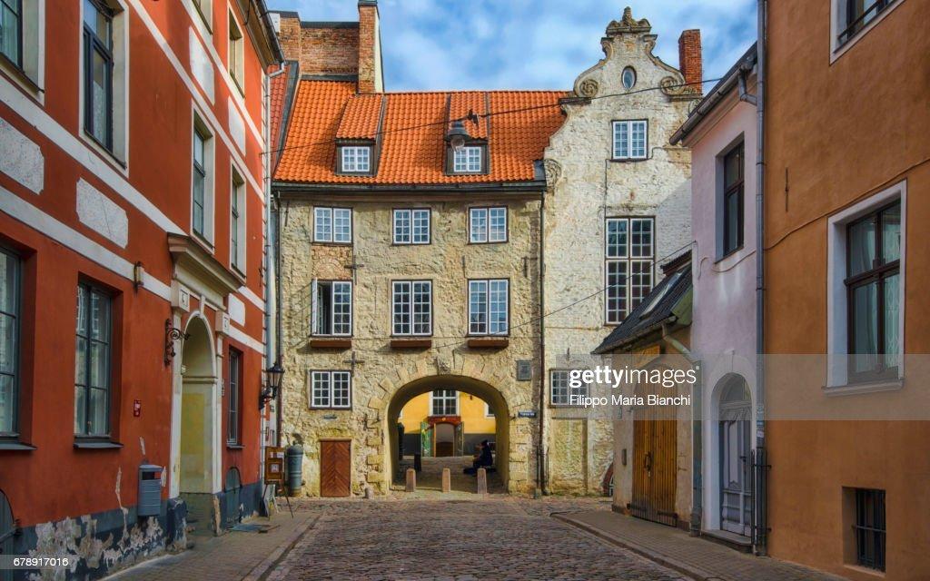 Swedish Gate, Riga : Stock Photo